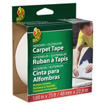 "Duck® Fiberglass Carpet Tape, 1.88"" x 75ft, 3"" Core"