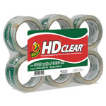 "Henkel Consumer Adhesives Carton Sealing Tape, 3"" Core, 1 7/8""x55 Yds., 6/Pack, Clear"