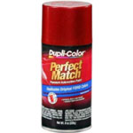 Krylon Perfect Match Automotive Paint, Ford Electric Currant Red Metallic, 8 oz Aerosol Can