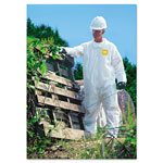 Dupont ProShield NexGen Coveralls, Zip Closure, Large