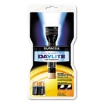 Durable Daylite LED Flashlight, Two Lithium CR123 Batteries, Black/Copper