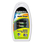 Durable Durable Mobile Charger; 2 Precharged Rechargeable NiMH Batteries