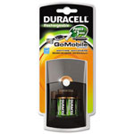 Duracell GoMobile Charger w/2 AA & AAA Pre-Charged Batteries, One Hour Charge