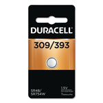 Duracell Button Cell Silver Oxide, 309/395