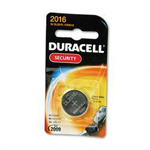Duracell DL2016BPK Coppertop® Lithium Battery, 1/Pack, 3V