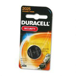 Duracell DL2025BPK Lithium DL2025 Button Cell Battery For Electronics, 3V, 1 Each