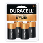 Duracell C-Cell CopperTop Alkaline Batteries with Duralock Power Preserve Technology