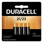 Duracell CopperTop Alkaline Batteries with Duralock, 12V, 4 per Pack