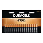 Duracell CopperTop Alkaline Batteries with Duralock Power Preserve Technology, AAA, 16/Pk