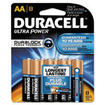 Duracell MX1500B8Z Ultra Digital Batteries for Photo/Electronic Devices, 8 Batteries per Pack, AA