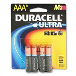 Duracell MX2400B8Z Ultra Digital Batteries for Photo/Electronic Devices, 8 Batteries per Pack, AAA