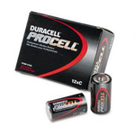 Duracell PC1400 Procell® Alkaline Batteries, 12 Batteries per Pack, C