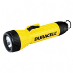 Duracell Yellow Industrial Heavy Duty Flashlight