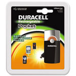 Duracell Pocket Charger, Universal Cable w/USB & Mini-USB