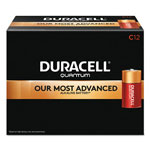 Duracell Quantum Alkaline Batteries with Duralock Power Preserve Technology, C, 72/Pk