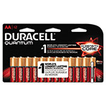 Duracell CopperTop Alkaline Batteries with Duralock, AA, 12/Pk