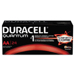 Duracell Quantum Alkaline Batteries with Power Preserve Technology, AA, 144/Ct