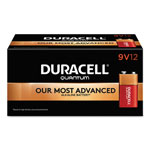 Duracell Quantum Alkaline Batteries with Duralock Power Preserve Technology, 9V, 72/Pk