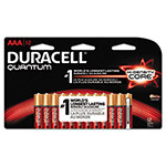 Duracell CopperTop Alkaline Batteries with Duralock, AAA, 12/Pk