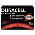 Duracell Quantum Alkaline Batteries with Power Preserve Technology, AAA, 144/Ct