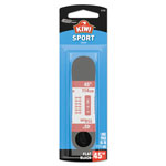 SC Johnson KIWI Flat Sport Laces, Black, 45 in., 48/Carton