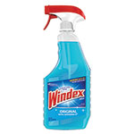 Windex Original Glass Cleaner, 26 oz Spray Bottle, 8/Carton