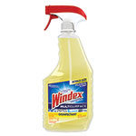 Windex Antibacterial Multi-Surface Cleaner, Lemon Scent, 26 oz Spray Bottle, 8/Carton