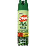 OFF! Deep Woods Dry Insect Repellent, 4oz., Neutral, Clear