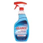 Diversey Glance Powerized Glass & Surface Cleaner, Liquid, 32 oz, 4/Carton