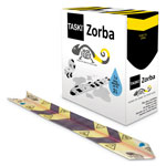 "Diversey Zorba Absorbent Control Strips, 0.5 gal, 4.7"" x 23.6"", 50/Pack"