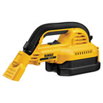 "Dewalt Tools 20V MAX* 1/2 Gallon Wet/Dry Portable Vac, 17""l x 8""w x 6""h"