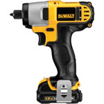 Dewalt Tools 12 Volt Lithium Ion Impact Driver Kit