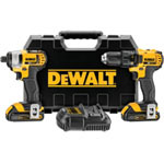 Dewalt Tools 20V Max Lithium Ion Compact Drill And Driver
