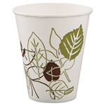 Dixie® Pathways Polycoated Paper Cold Cups, 12 oz, 100 per Pack
