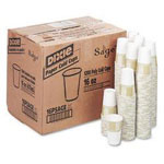 Dixie 16 Oz Cold Paper Cups, Sage Design, Pack of 1200