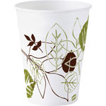 Dixie Cold Cups, Double Polycoated, 3oz., 1200/PK, Pathways/White