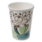 Dixie Hot Cups, Paper, 12 oz., Coffee Dreams Design, 50/Pack