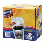 Dixie 12 Oz Hot/Cold Paper Cups, Coffee Design, Pack of 50