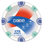 "Dixie Paper Bowl, 6"", White, 175/Carton"