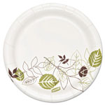 "Dixie Pathways Heavyweight Paper Plates, 5 7/8"", White, 500/Carton"
