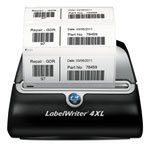 "Dymo Pendaflex® LabelWriter® 4XL, 4"" Labels"
