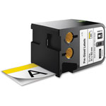 "Dymo XTL Pre-Sized Labels, 2"" x 4"", White/Yellow Header/Black Print, 70/Cartridge"