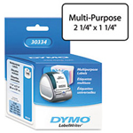 Dymo Standard Address Labels for LabelWriter, 1 1/4 x 2 1/4, White, 1,000 per Box