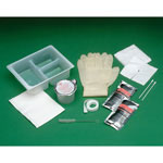 Medline Tray, Trach, 14 Fr Cath, Saline, Pipe Cleanr