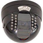 DPS Dome CCD Color Camera w/Night Vision - CCTV Camera - Dome - Color (Day&Night) - 525 TVL