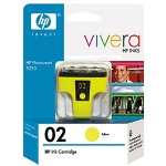 HP C8773WN#140 02 Yellow Print Cartridge, 6 mL