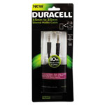 Duracell Stereo Audio Cable, 10 ft