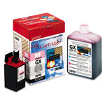 Encad Ink jet cartridge kit, GX (Ultra Fi), Novajet 800, 500ml + 10ml, light magenta