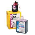 Encad Ink jet cartridge kit, GX Octachrome, Novajet 800, 500ml+10ml, med magenta