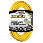Coleman Cable Polar/Solar Plus 50' Extension Cord 12/3 Yellow